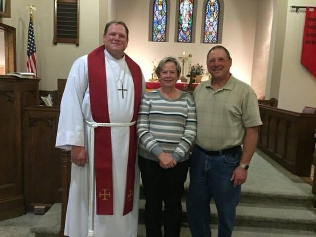 Installation of Pastor John Ansell – United Lutheran, L'anse – Sept. 19, 2016