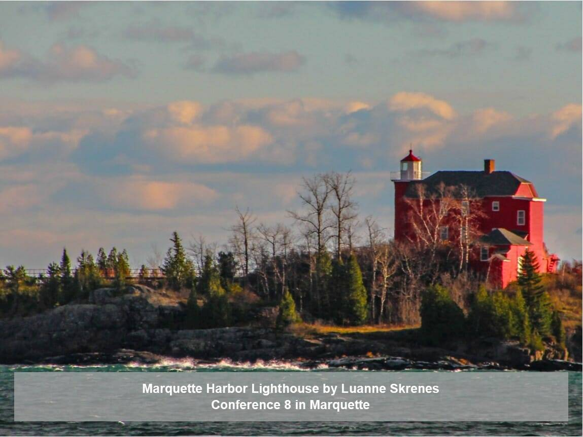 Marquette Harbor Lighthouse by Luanne Skrenes