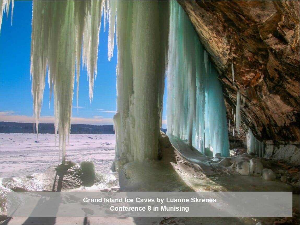 Grand Island Ice Caves by Luanne Skrenes